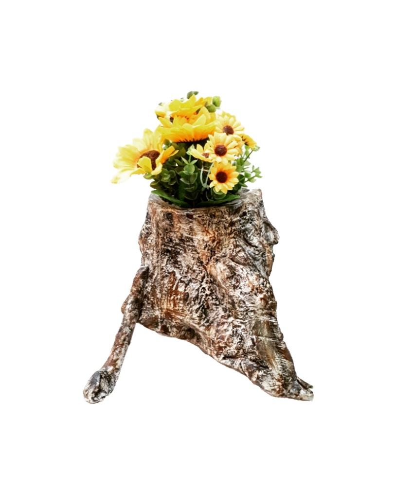 Γλαστράκι από ξύλο ελιάς FLOΟ6