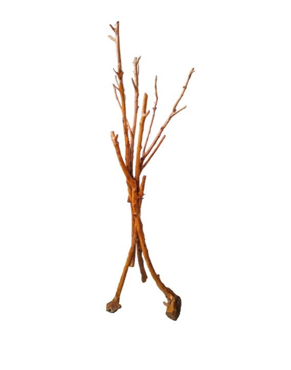 Καλόγερος από ξύλο ελιάς MON008