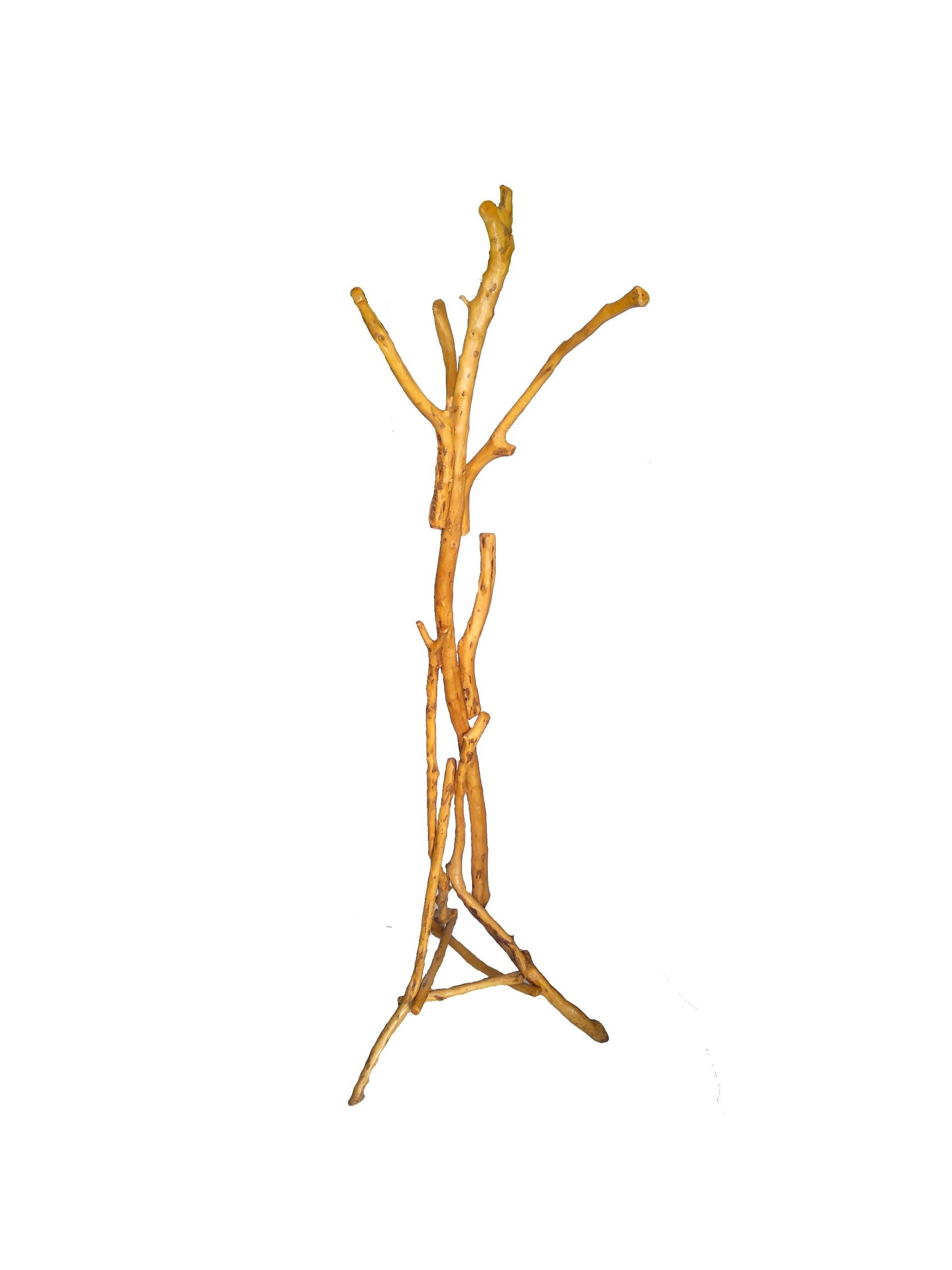 Καλόγερος από ξύλο ελιάς MON002