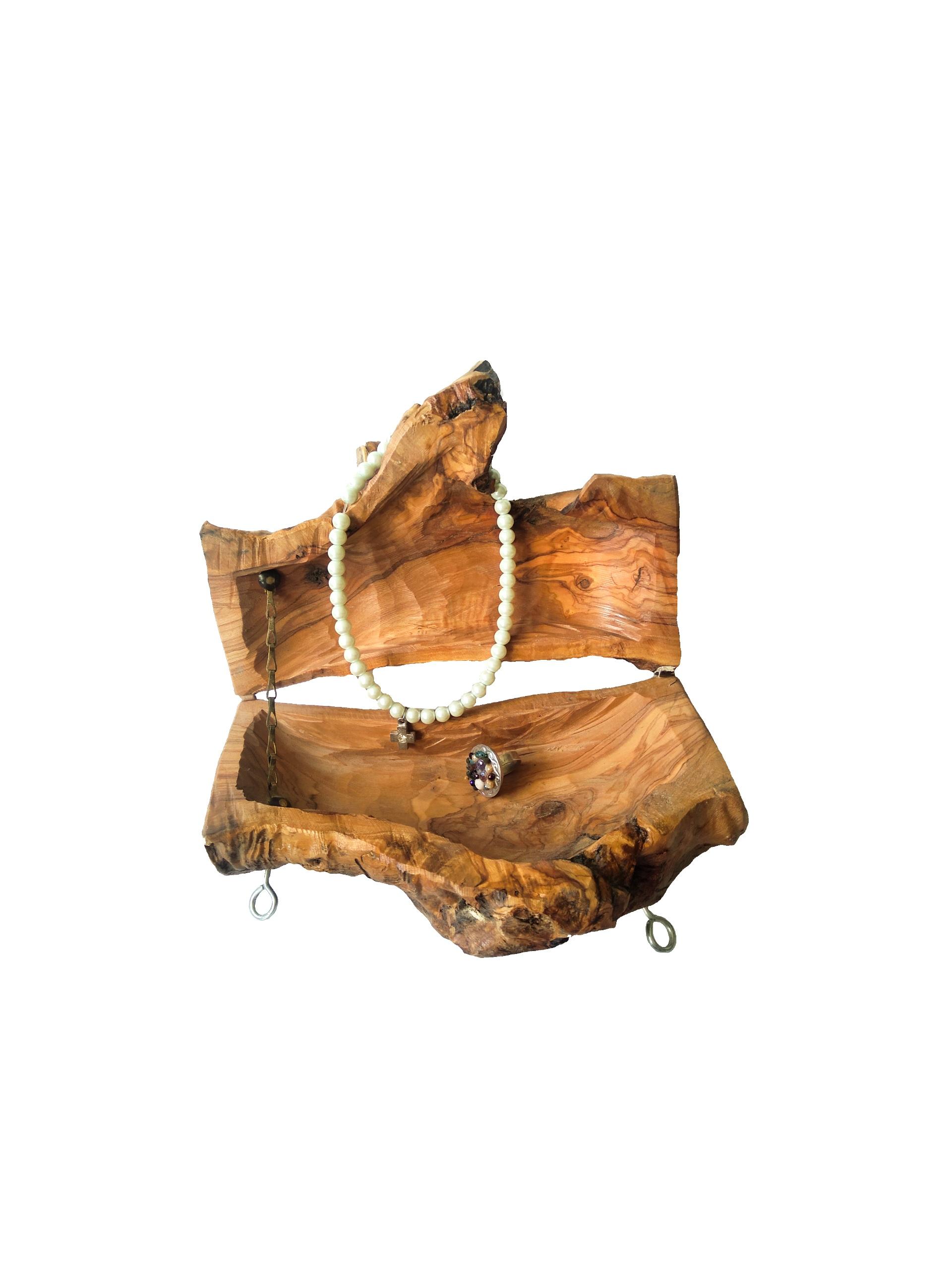 Βάση από ξύλο ελιάς BIZ05