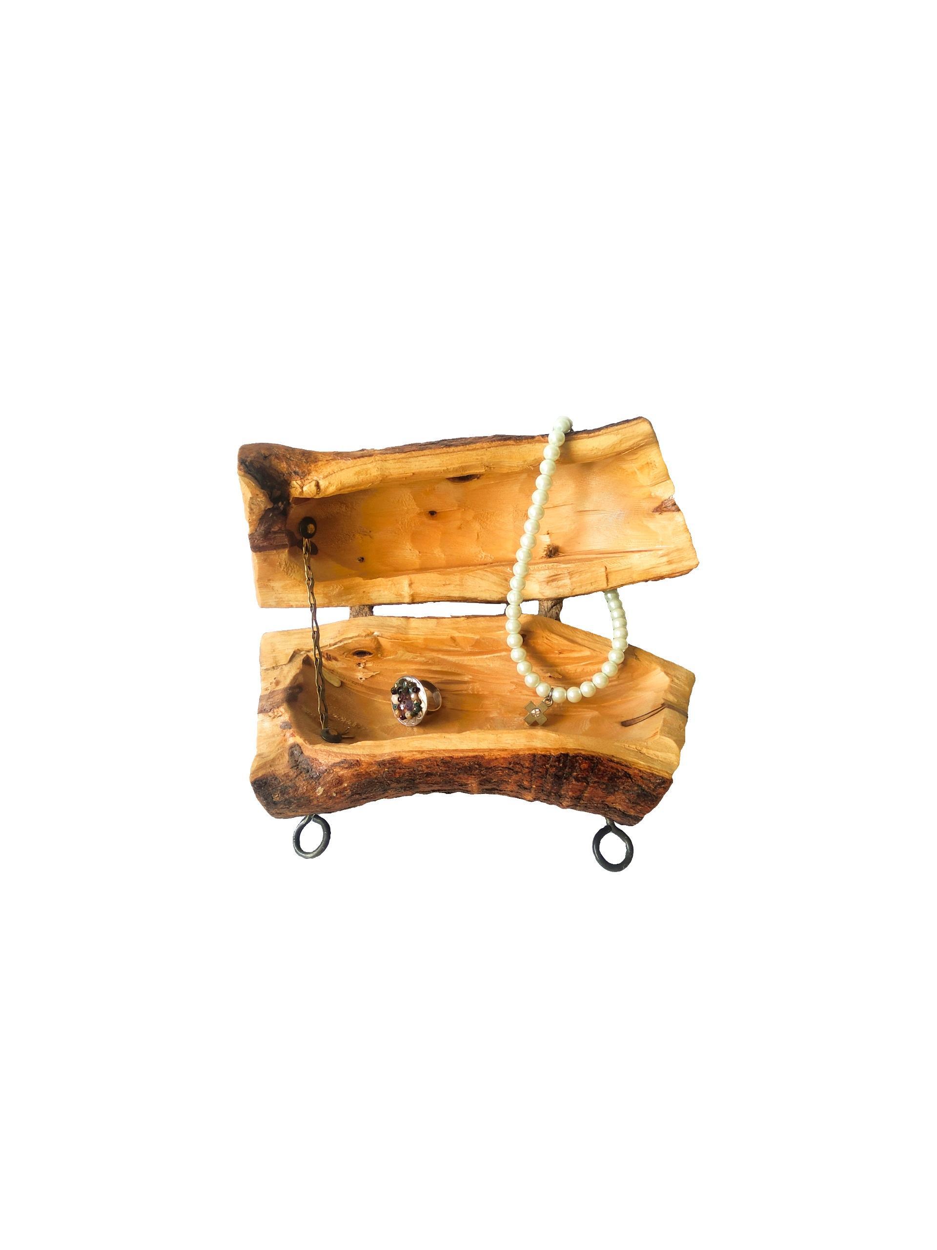 Βάση από ξύλο ελιάς BIZ04